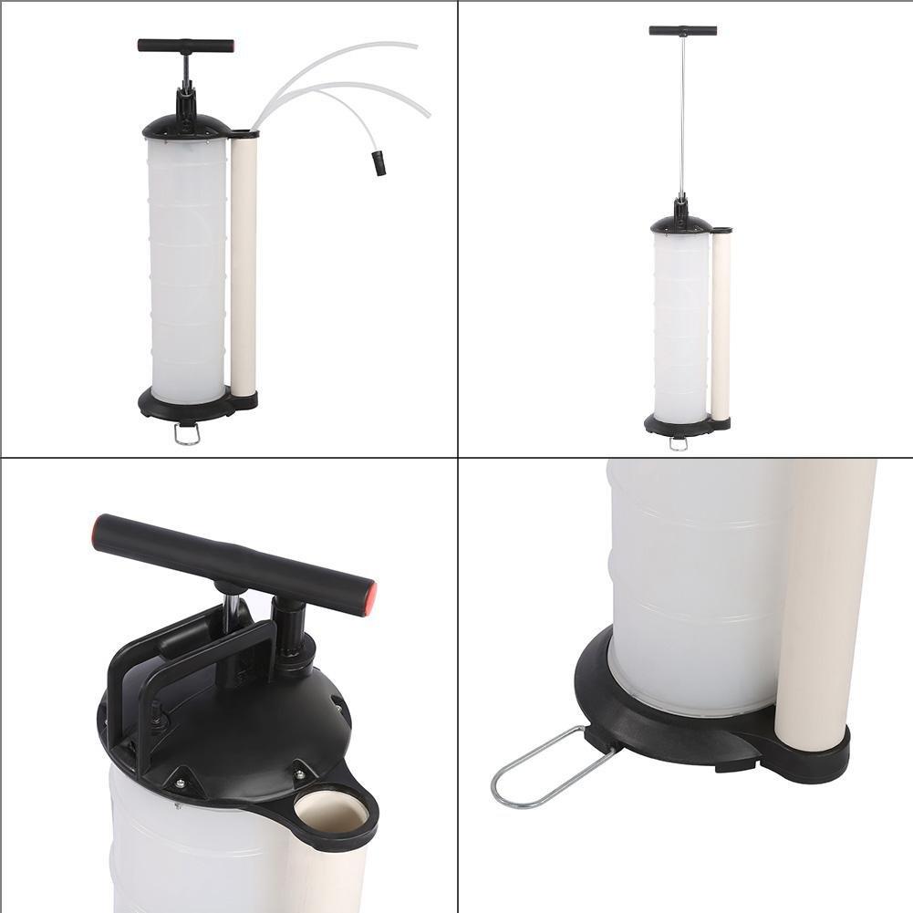 Manual Vacuum Oil Pump Extractor Fluido para Coches Marino Barco GOTOTOP Bomba Aspira Aceite Capacidad 7/litros caravanas