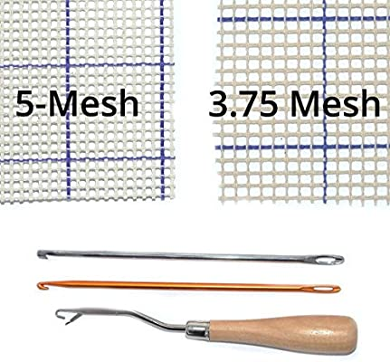 Rug Hooking Mesh Canvas 40 x 60 5-Mesh