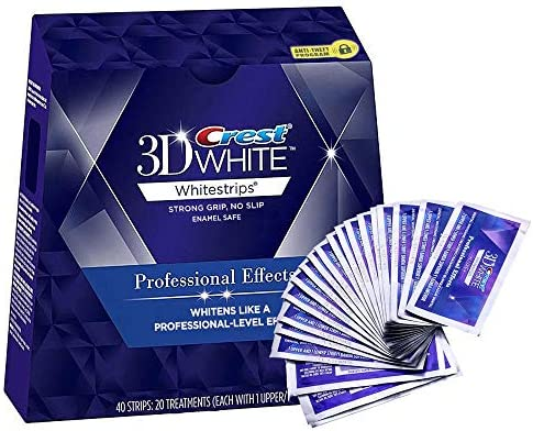 Scienish Crest 3d Luxe Whitestrips Professional Effects 40 Strips Buy Online At Best Price In Ksa Souq Is Now Amazon Sa