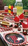 Backyard BBQ Oval Paper Plates, 8ct