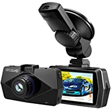 """2.7"""" Screen Full HD 1080P Car Dash Cam with GPS, Atmoko 170° Wide Angle Car DVR with Night Vision, Dashboard Camera Recorder with G-Sensor, WDR , Loop Recording, Max 32GB TF Card"""