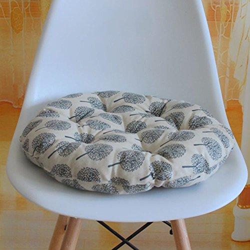 XMZDDZ Thicken Tatami mats Seat cushion,[office] Carpet Car Balcony Floor Yoga Chair pad Indoor Outdoor Round Chair [pad]-F diameter30cm(12inch)