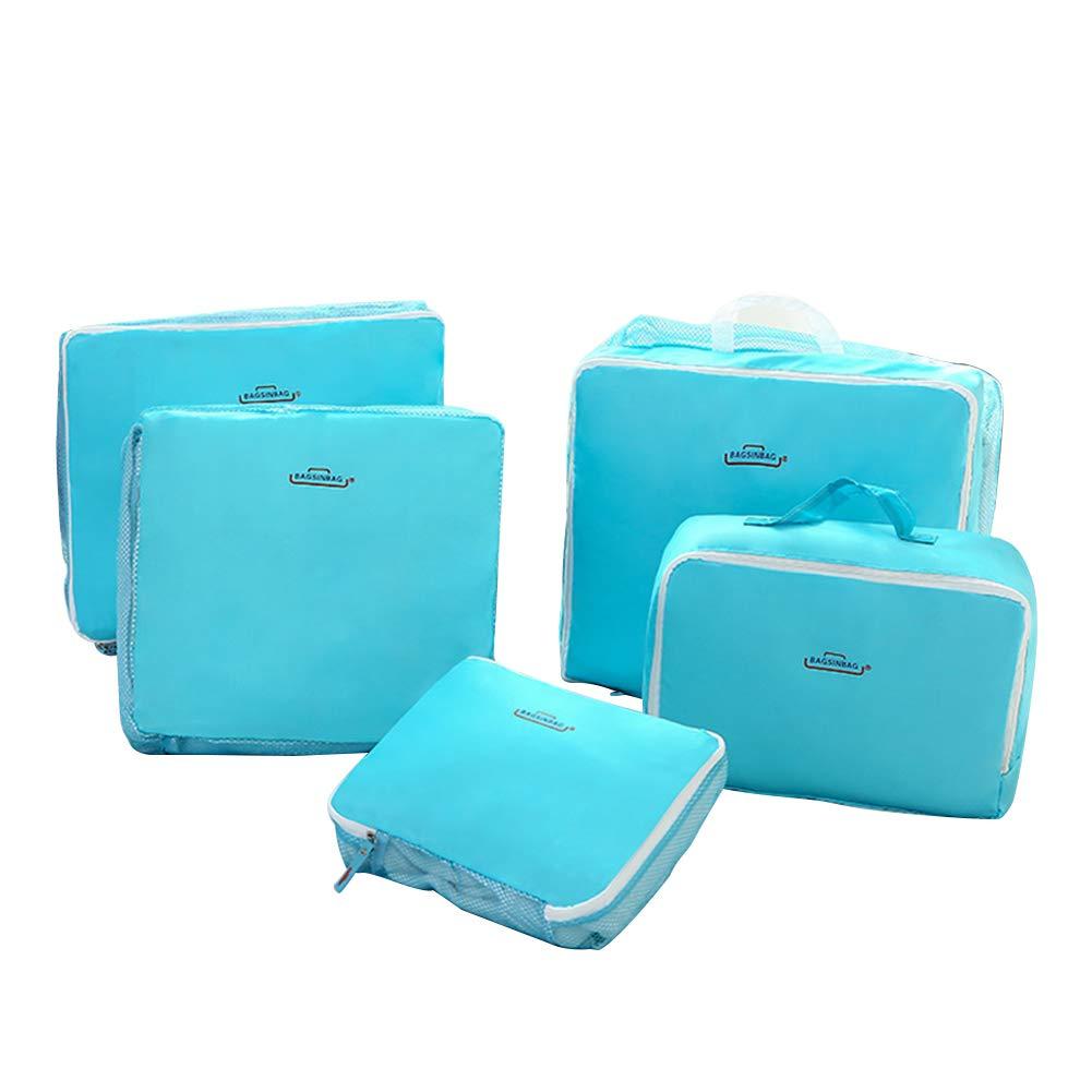 jingyuu - Z1417HL6758SGCFH Azul Organizador para Maletas Azul