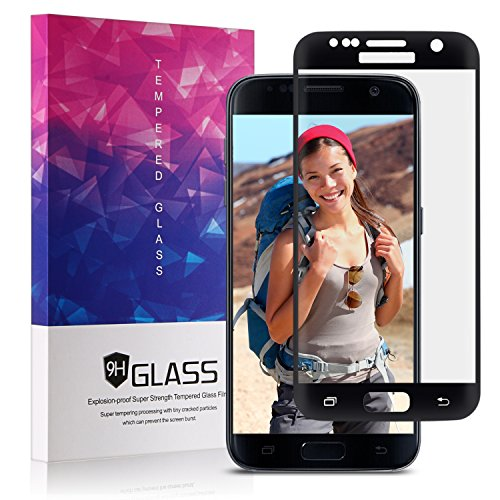 Clear Tempered Glass Screen Protector for Samsung Galaxy S7 Case-Friendly Samsung Galaxy S7 Screen Protector Xawy 2-Pack