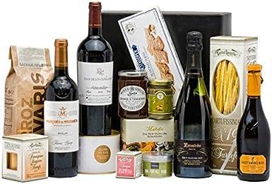 Pack con Vinos y Degustación Gourmet: Amazon.es: Alimentación y bebidas