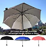 Windproof Umbrella with UV Protection and