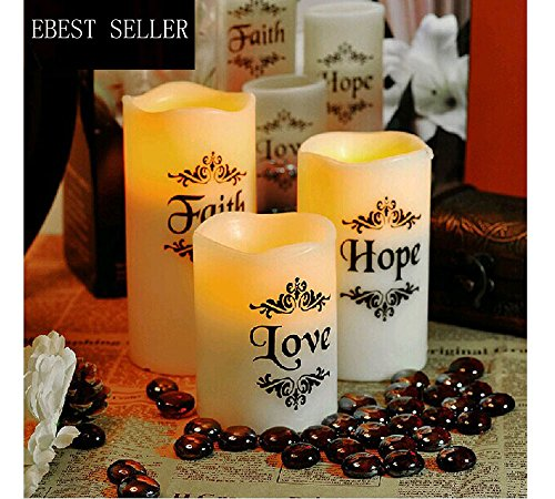 Flameless led candles 2017 Top Grade Decoration Flameless...