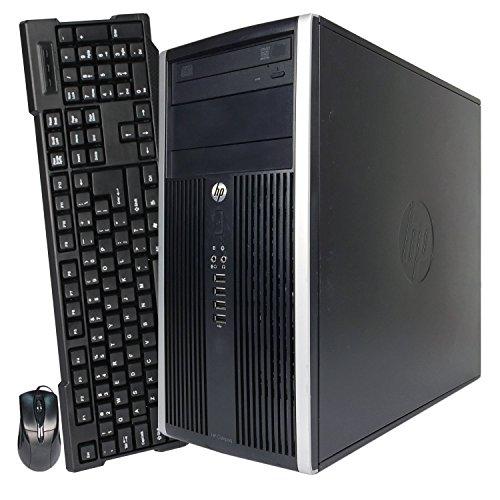HP 6200 Pro Mini Tower Intel i3-2100 3.1GHz 4GB RAM 320GB HDD Win 10 Home DVD-RW (Certified Refurbished) by HP (Image #2)