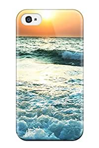 Snap-on Case Designed For Iphone 4/4s- Balibeach Animation by icecream design