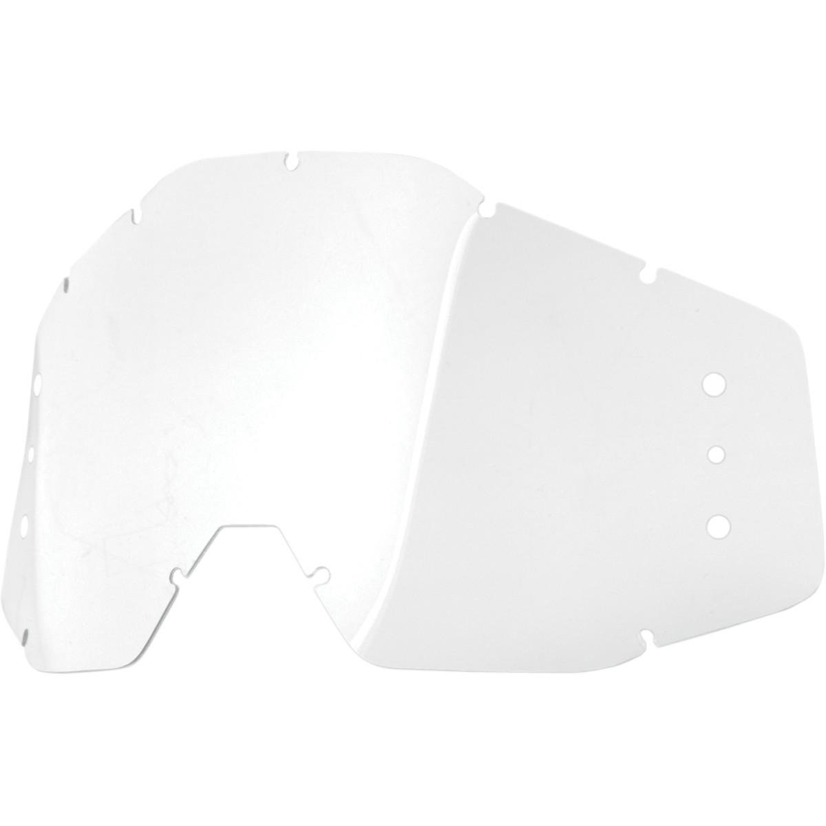 100% Percent Accuri/Strada Goggle Replacement Lens - 51021 Free Size 51021-010-02