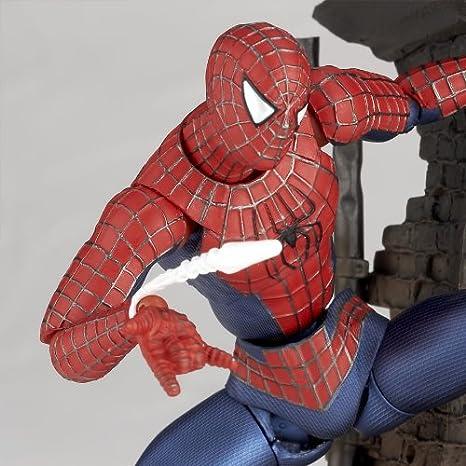 2018 SpiderMan SCI-FI Revoltech Series No.039 Spider Man Action Figure Figma