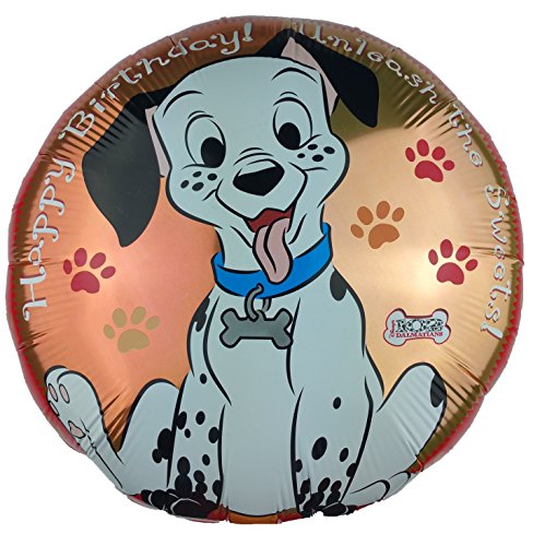 Disney's 102 Dalmatians Happy Birthday ! Unleash the Sweets! Foil Balloon