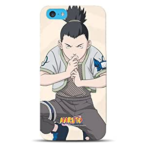 Diabloskinz D0103-0062-0057 Naruto Shikamaru - Carcasa impresa para Apple iPhone 5C