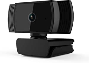 AutoFocus 1080P Computer Webcams with Dual Microphones,Webcam for Working Distance Learning Gaming Conferencing Video Live Streaming, Laptop Desktop Webcam, USB Computer Camera for Zoom YouTube Skype