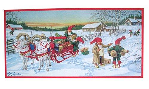 christmas poster vintage