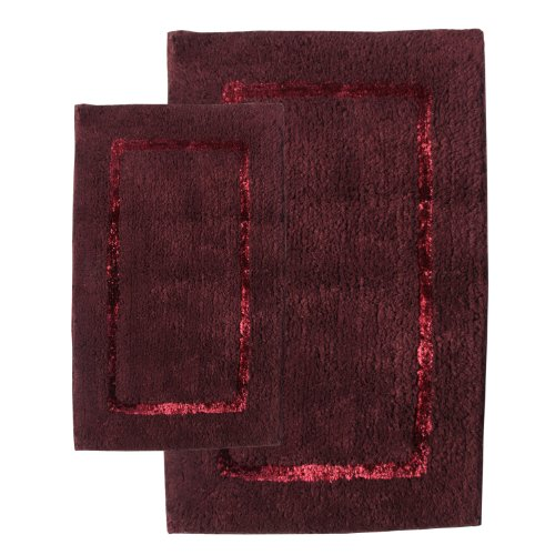 Chesapeake Merchandising 2-Piece Greenville Bath Rug Set, Port Color by Chesapeake Merchandising