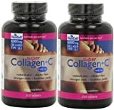 Super Collagen+c (Type 1&3) 250 Tablets (2 Pack) by Neocell by Neocell