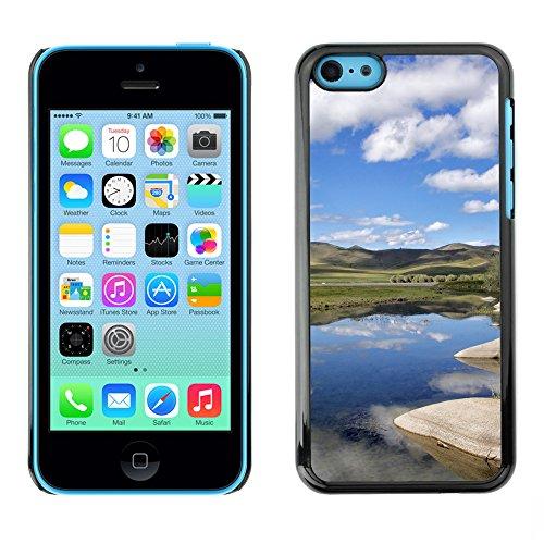 Premio Sottile Slim Cassa Custodia Case Cover Shell // F00016330 Skies réflexion // Apple iPhone 5C