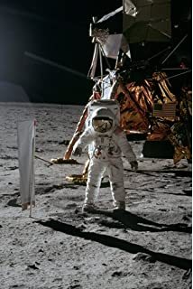 Amazon.com: Man on the Moon, Buzz Aldrin, Apollo 11 - 24