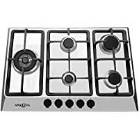 Ancona AN-21429 30 Gas Cooktop, Stainless Steel