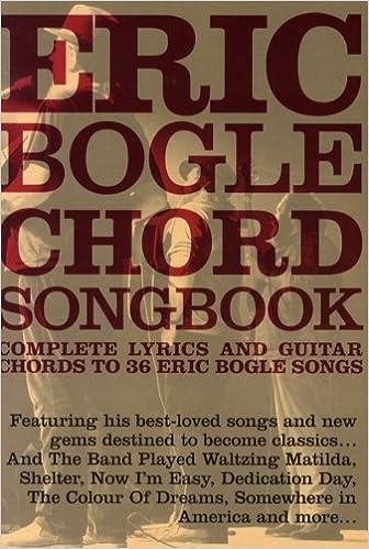 Eric Bogle Chord Songbook Lc Amazon Various Books