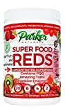 Superfood Reds by Parker Naturals Organic Antioxidant Powder: Super Food Energy Mix with SuperFruits and SuperGreens