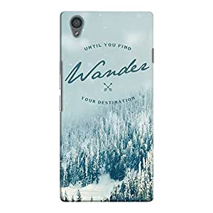 DailyObjects Wander Destination Case For OnePlus X