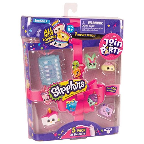 Shopkins S7 5Pk Toy