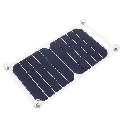 Amazon.com: hongfei - Cargador solar portátil (5 V, 1000 mA ...