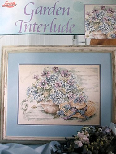 Garden Interlude Cross Stitch Pattern by Lanarte - #3449