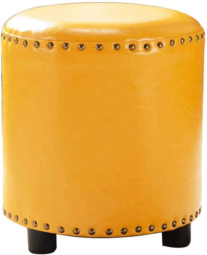 NXYJD Estrado Superior del Cuero capitoné reposapiés del Asiento, Tamaño, 34 * 40 cm, 4,2 kg sobre