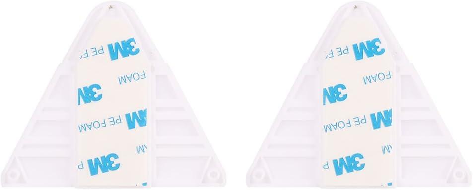 2-Pack Cerraduras para puertas corredizas Cerradura a prueba de ni/ños Seguridad para beb/és Cierres adhesivos de seguridad Sin tornillos para deslizar el armario Armario Ba/ño