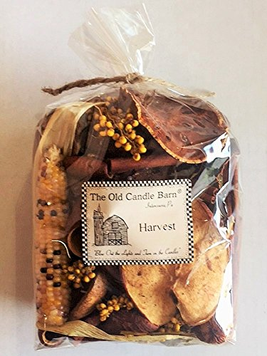 Harvest Potpourri Large Bag - Perfect Fall Decoration or Bowl Filler - Beautiful Autumn Scent