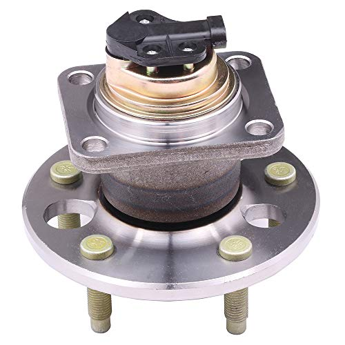 AUTOMUTO Wheel Hub Bearing, 513062 Rear 5 Lugs with ABS Sensor Replacement fit Buick Lesabre Cadillac DeVille Olds Bonneville 1991-1999 (Cadillac Deville Rear Hub)