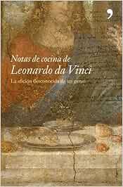 Notas de cocina de Leonardo da Vinci Fuera de Colección