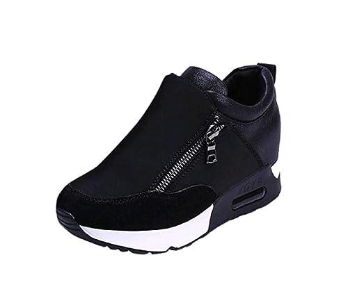 Beauty Top Sneakers Donna Scarpe Piattaforma Moda Sportive Casuale Scarpe da Ragazza Ginnastica Traspiranti Sneakerboots Bordo Sneakers