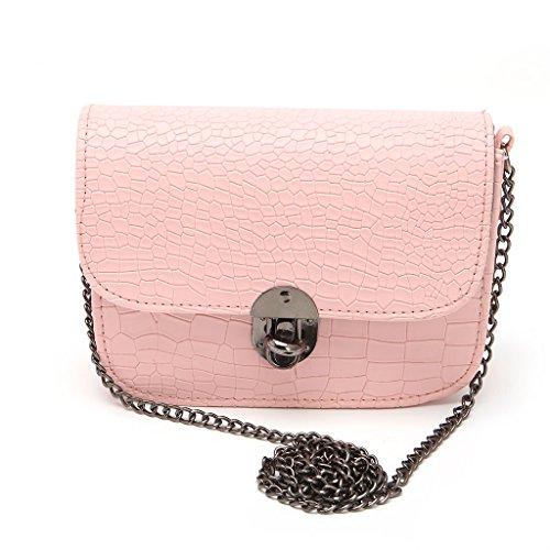 hndhui Frauen Lady Cha? Nette Tasche ¨ ¤ bandouli ¨ ¨ re ¨ ¤ Handtasche-Börse Messenger Satchel Neue