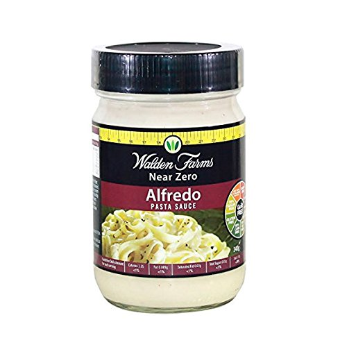 Walden Farms Alfredo Pasta Sauce - 340 gr: Amazon.es: Alimentación y bebidas