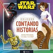 CAIXA CONTANDO HISTORIAS STAR WARS