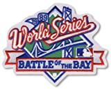 1989 MLB World Series Logo Jersey Patch Battle of the Bay San Francisco Giants vs. Oakland Athletics