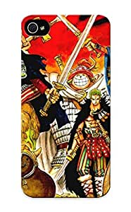 QueenVictory Brand New Defender Case For Iphone 5/5s (one Piece Anime Vikings Roronoa Zoro Chopper Monkey D Luffy Sanji One Piece ) / Christmas's Gift