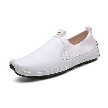 Gfphfm Zapatos para Hombres, 2019 Primavera/Otoño Nuevos Mocasines y Zapatillas sin Cordones Moda Zapatos Perezosos Calzado Casual (Color : UN, ...