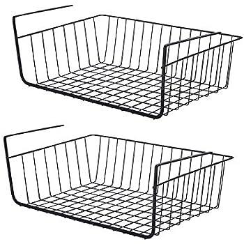 Amazon Com Casagood Under Shelf Basket Set Wire Rack