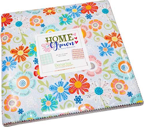 Nancy Halverson Home Grown 10X10 Pack 42 10-inch Squares Layer Cake Benartex