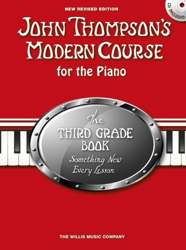 Third Grade Cd - John Thompson's Modern Course Third Grade - Book/CD (2012 Edition)