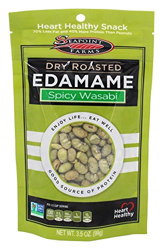 SeaPoint Farms - Edamame Dry Roasted Spicy Wasabi - 3.5 oz.