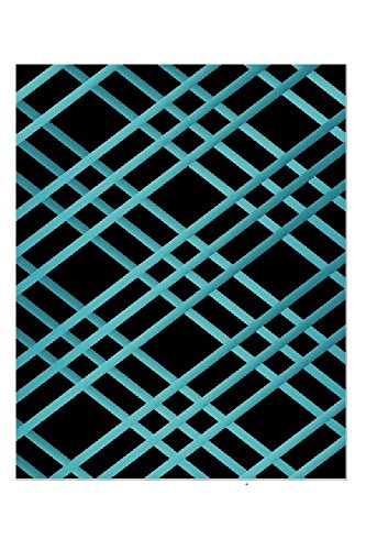 Bulletin-Memo Board and Picture Frame: Black and Teal