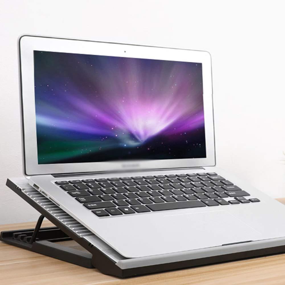 PANGU-ZC Laptop Cooler - Foldable Portable Dual USB Powered Dual Fan Design, Height Adjustable for 15.6'' by PANGU-ZC (Image #3)