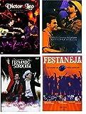 Super Combo: DVD Victor e Léo + Zeze Di Camargo + Fernando e Sorocaba + Festaneja