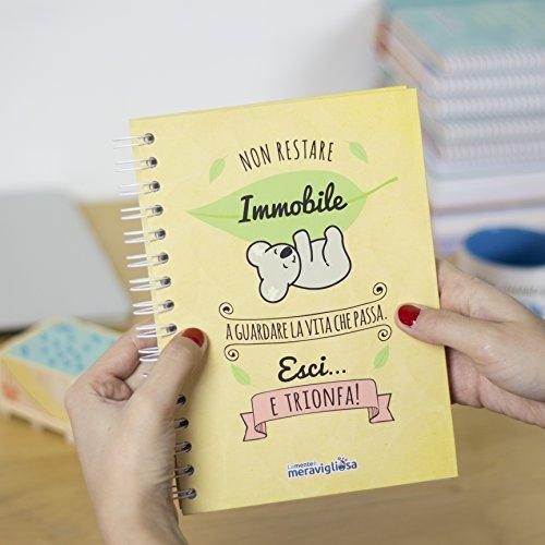 La mente è meravigliosa- Cuaderno A5 con frase y dibujo para ...